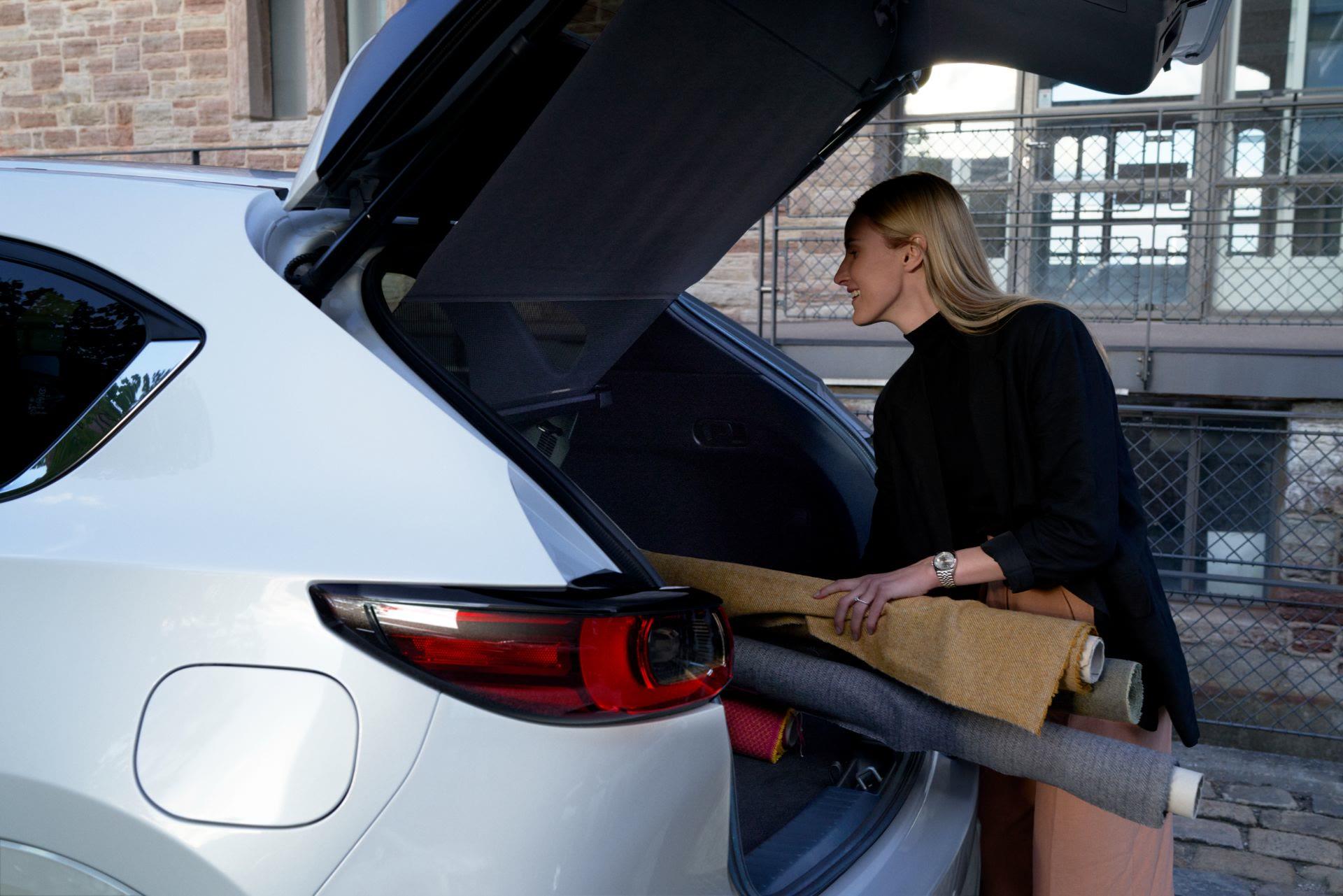 全新魂动SUV,2022小改款马自达CX-5优雅亮相